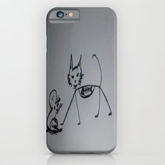Cat,mouse n fish skull iPhone 6 Slim Case