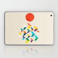 Great Bird Migration Laptop & iPad Skin
