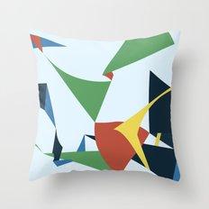 Folds Throw Pillow