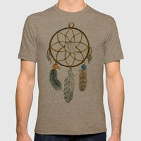 Dream Catcher Mens Fitted Tee Tri-Coffee SMALL