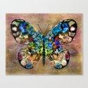 Butterflied Canvas Print