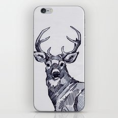 Oh My Deer Black and White iPhone & iPod Skin