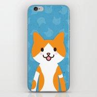 Happy Cat iPhone & iPod Skin