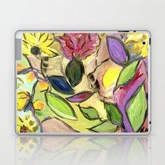 Flower Swirls Laptop & iPad Skin