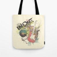 It's Indie Rock'n'Roll Tote Bag