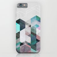 iPhone & iPod Case featuring Nordic Combination 23 by Mareike Böhmer Graphics