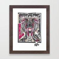 PRIMAL Framed Art Print