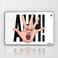 Five Fingered Face Laptop & iPad Skin