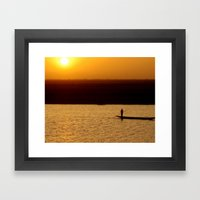 Niger River Framed Art Print