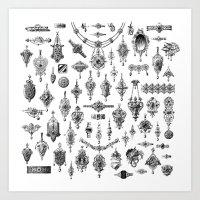 Jewels and Trinkets Art Print