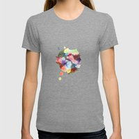 Whenever You're Near Womens Fitted Tee Tri-Grey SMALL