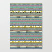 Berlin pattern Canvas Print
