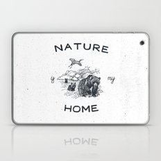 NATURE IS MY HOME Laptop & iPad Skin
