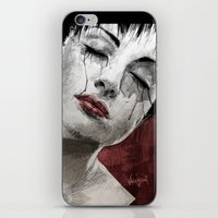 Venom and Tears iPhone & iPod Skin