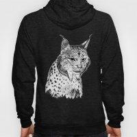 Iberian Lynx B/N Hoody