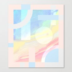 Shore Synth #2 Canvas Print