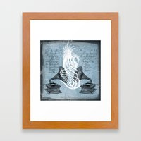 The Phoenix Rises Framed Art Print