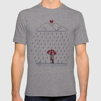 Love stories  Mens Fitted Tee Athletic Grey SMALL