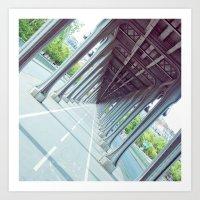 Never-Ending Bridge. Art Print