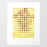 Sunflowers Remixed (2009… Art Print