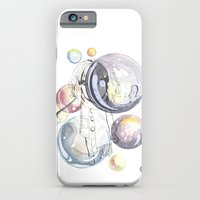 iPhone & iPod Case featuring  Bubbles by Annie illustrations