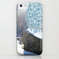 iPhone Cases featuring Winter Growth by Nicholas Bremner - Autotelic Art