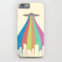 iPhone & iPod Case featuring The Melting Beam by Logan Schraeder