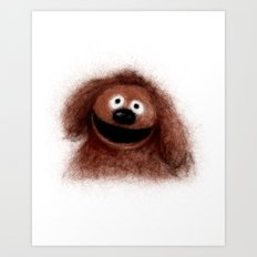 Rowlf, The Muppets Art Print