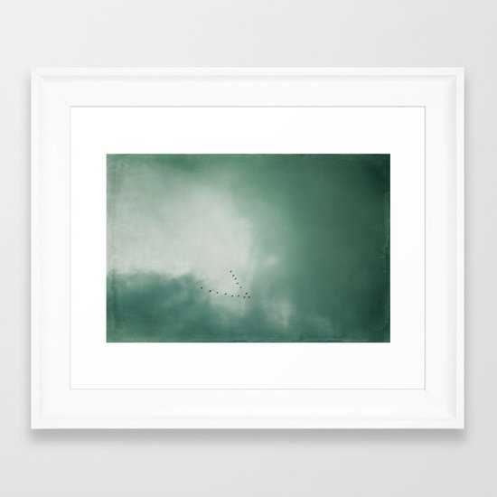 southwards Framed Art Print