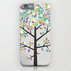 Tree Graphic 2 Colorful iPhone 6 Slim Case