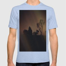 Mysterious Night Mens Fitted Tee Athletic Blue SMALL