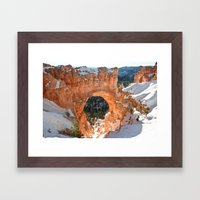 Natural Bridge - Bryce C… Framed Art Print