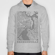 Jacksonville Map Line Hoody