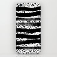 Iver - Black And White M… iPhone & iPod Skin