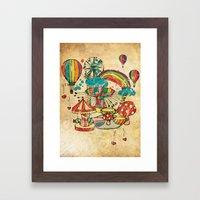 Funfair! Framed Art Print