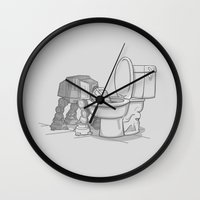 Bad, Bad Walker Wall Clock