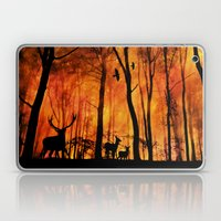 Forest fire Laptop & iPad Skin