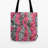 Geometric Spring Tote Bag