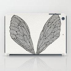 Black Cicada Wings iPad Case