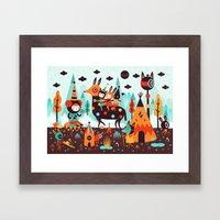 The Spirit Walker Framed Art Print