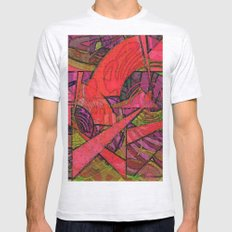 Tropical Farm 2 Mens Fitted Tee Ash Grey SMALL