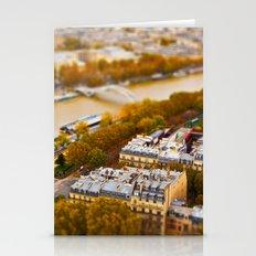 Paris Miniature (Tilt Sh… Stationery Cards