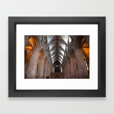 Gloucester Cathedral I Framed Art Print