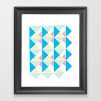 Deco 3 Framed Art Print