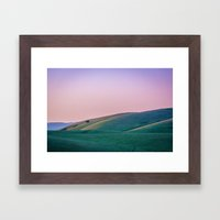 Morgan Territory Morning Framed Art Print