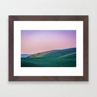 Morgan Territory Morning Framed Art Print