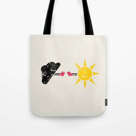 Weather War Tote Bag