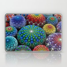 Jewel Drop Mandala Stone Collection #1 Laptop & iPad Skin