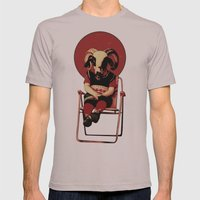 SIT TIGHT Mens Fitted Tee Cinder SMALL