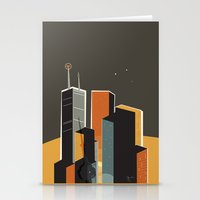 Summer in Toronto (alt colour) Stationery Cards
